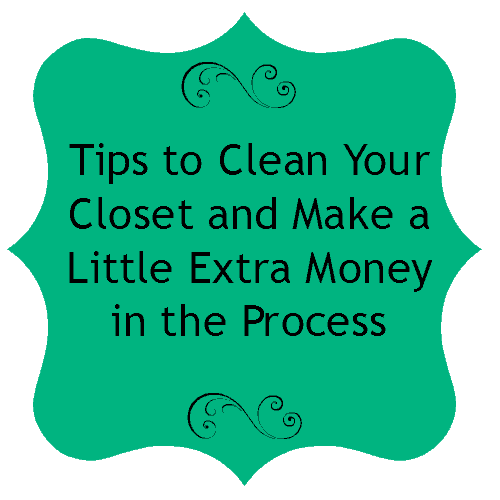 Clean Your Closet and Make Money