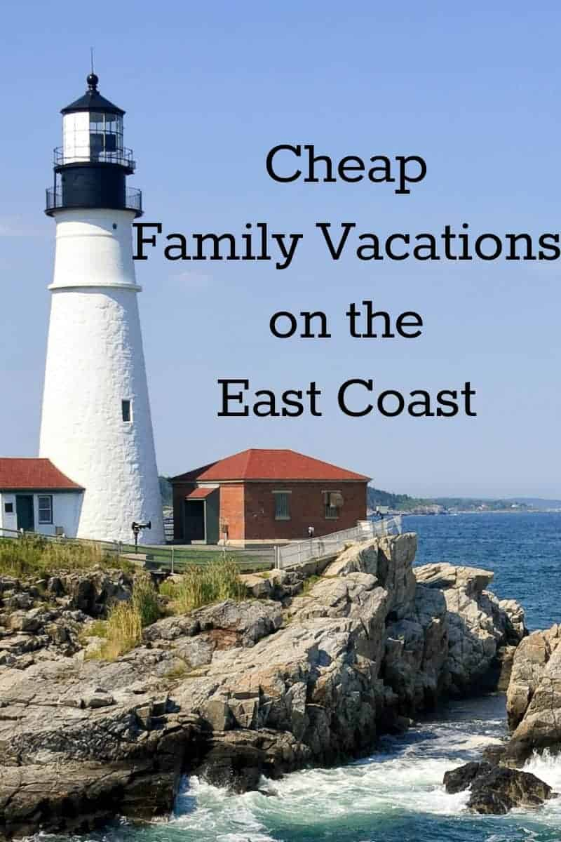 Looking for the best places to visit for cheap family vacations on the East Coast? You're in luck, the coast is FULL of so many great options! Check out a few of our favorite family travel ideas!