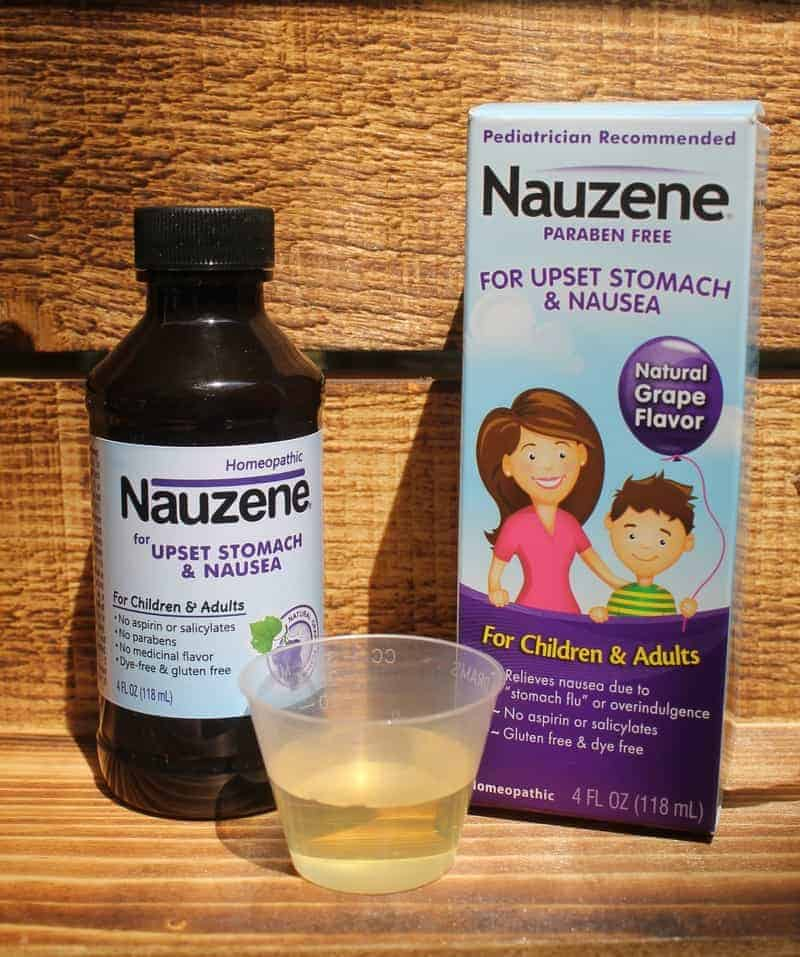 """Don't let an upset tummy or the """"stomach flu"""" ruin a good day! Get fast and gentle homeopathic relief for the whole family from Nauzene."""
