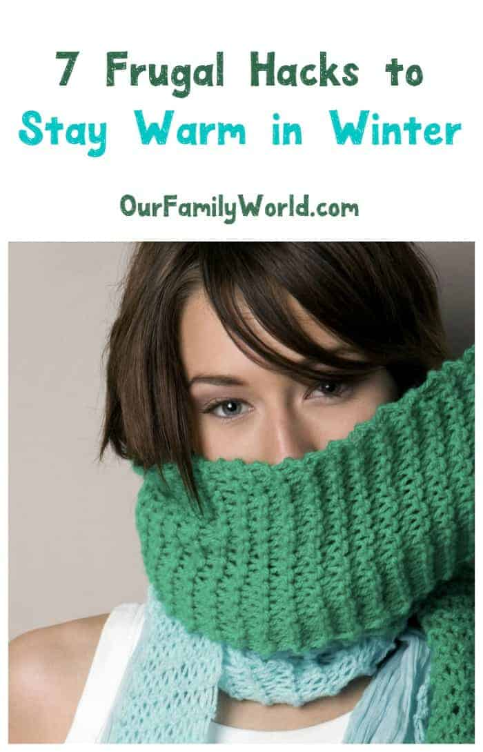 Stay warm in cold weather without blowing your budget with these frugal winter hacks! Check them out!