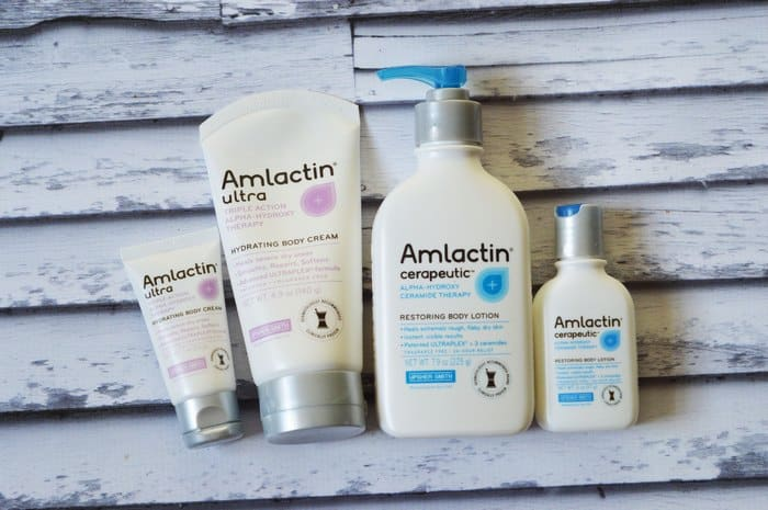 Banish dry winter skin fast with AmLactin Alpha-Hydroxy Skin Care lotions and creams! Check out our favorites & how we use them!