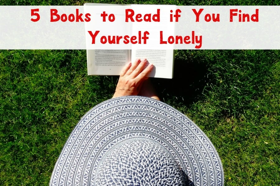Loneliness can be overwhelming at times. When I'm feeling down, I love these great books to read to relieve anxiety. They make me feel a little less alone.