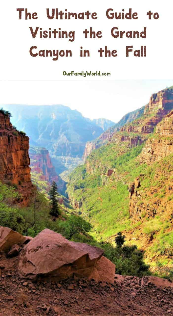 Planning a Grand Canyon fall vacation? Here's everything you need to know, from where to stay to the best places to dine! Check it out!